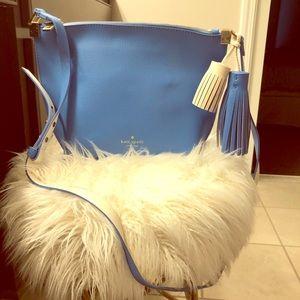 Kate Spade robin egg blue shoulder bag